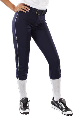 Teamwork Pant 3265 Girls 14 oz Low Rise Piped Pro Style