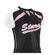 Russell Athletic Girls Performance Raglan Sleeve Jersey