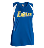 Womens Sleeveless Softball Jersey by Russell Athletic
