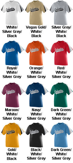 Youth Power Plus Baseball Jersey - All Colors