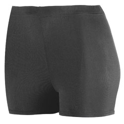 Augusta Poly/Spandex 2.5 Inch Short - Ladies