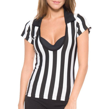 Referee Shirt Deep Scoop Juniors