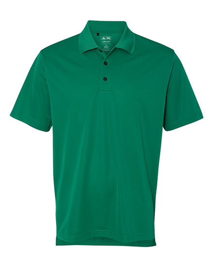 Adidas ClimaLite Golf Polo 3-Stripes Cuff Mens