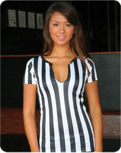Referee Tee Raw Edge Long