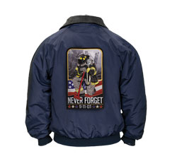 Three Seasons Jacket with Weeping Firefighter Mens