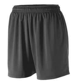 Augusta Poly/Spandex 4.5 Inch Short - Girls