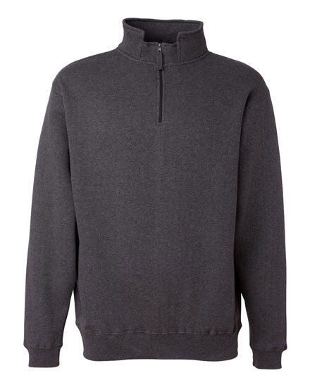 J. America Heavyweight Sweatshirt 1/4 Zip Fleece