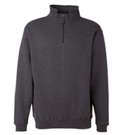 J. America - Heavyweight 1/4 Zip Fleece Sweatshirt