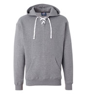 Sport Lace Hooded Sweatshirt by J. America