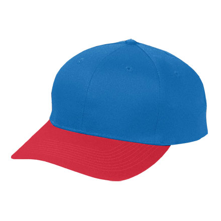 Augusta Six-Panel Low-Profile Cotton Twill Cap - Adult
