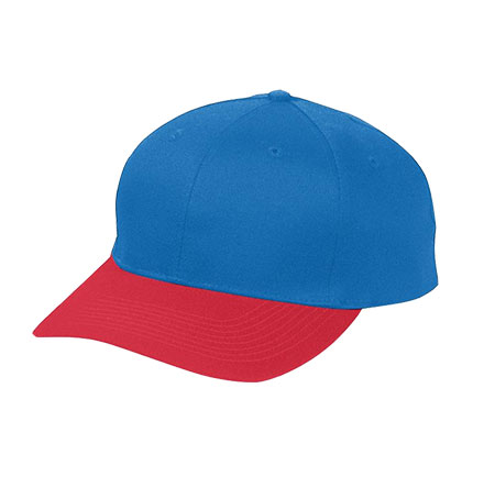 Augusta Six-Panel Low-Profile Cotton Twill Cap - Youth
