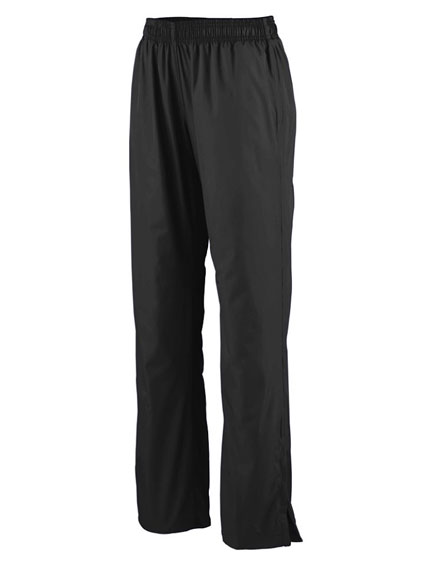 Augusta Zip Bottom Warm Up Pants - Ladies