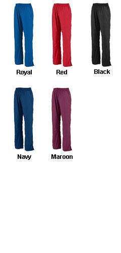 Mens Zip Bottom Warm Up Pants - All Colors