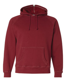 J. America Hooded Sweatshirt Vintage With Contrast Color Stitching