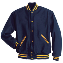 Holloway Letterman All Wool Jacket - Mens
