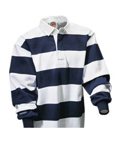 Rugby Shirt Long Sleeve Striped