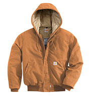 Carhartt Mens Flame-Resistant Midweight Active Jac/Quilt-Lined