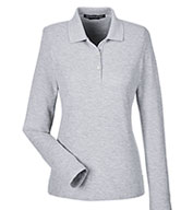 Devon & Jones Ladies Pima Piqué Long-Sleeve Polo