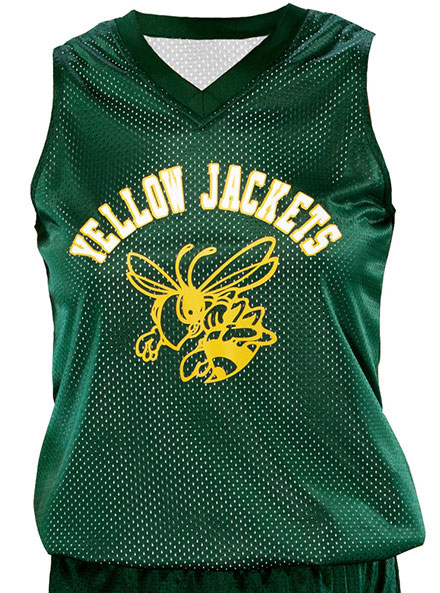 Teamwork Reversible Fadeaway Basketball Jersey - Girls