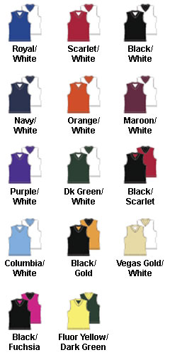 Girls Fadeaway Reversible Basketball Jersey - All Colors