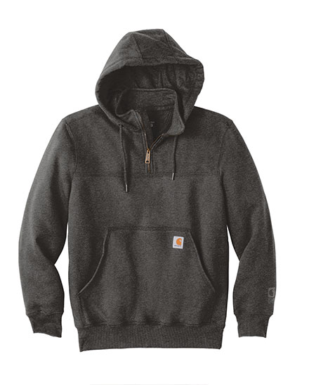 Carhartt Hooded Heavyweight Quarter Zip Sweatshirt - Mens