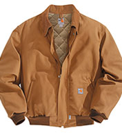 Carhartt Flame-Resistant Duck Bomber Jacket/Quilt-Lined