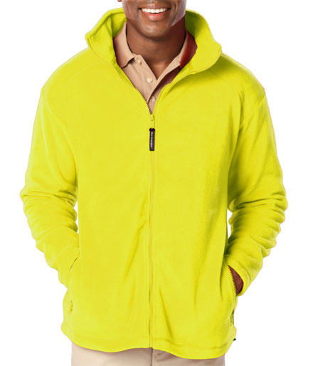 Polar Fleece Full Zip Jacket - Mens