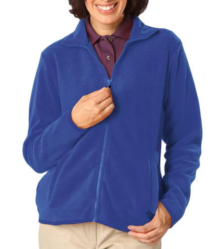 Polar Fleece Full Zip Jacket - Ladies