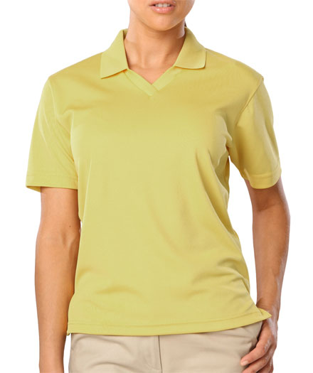 Moisture Wicking Polo Stain Release with Scotchguard Protection Ladies