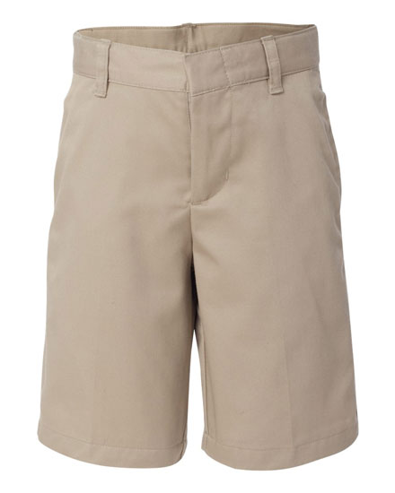 French Toast Shorts Flat Front