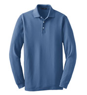 Long Sleeve EZCotton™ Pique Polo