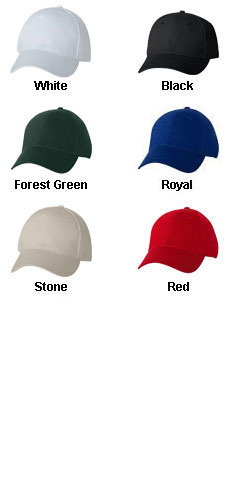 Bayside® Cotton Chino Twill Cap - All Colors