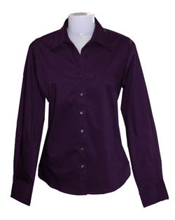 Wrinkle-Resistant Perfect Poplin Shirt - Ladies