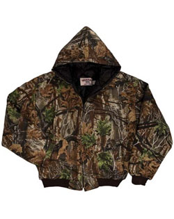 Hooded Camo Jacket Hunter Mens