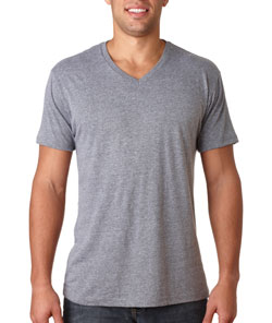 V-Neck Tri Blend Next Level Adult Mens