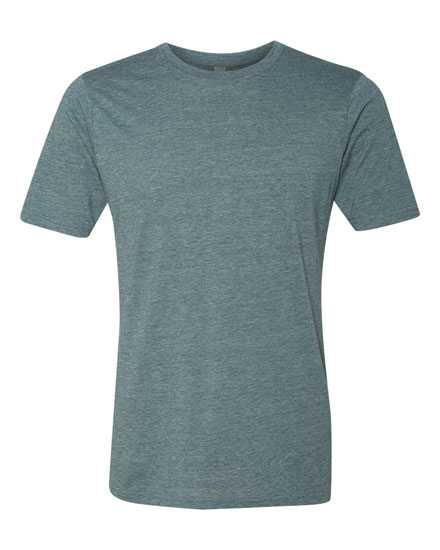 Crew Neck Poly/Cotton Tee - Mens