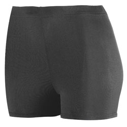 Augusta 2.5 Inch Poly/Spandex Short - Girls