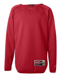 Rawlings Pullover Fleece Long Sleeve Adult