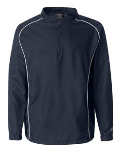 Rawlings Pullover 1/4 Zip Dobby Mens