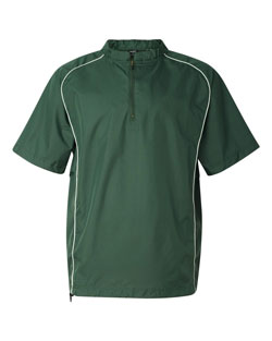 Rawlings Pullover 1/4 Zip Short Sleeve Mens
