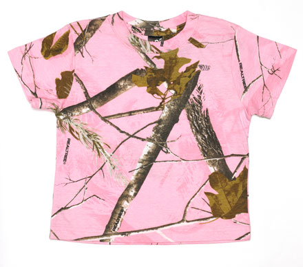 Camouflage RealTree Short Sleeve T-shirt - Toddler
