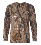 Officially Licensed RealTree® Long Sleeve Camouflage T-shirt by Code V