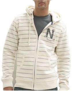 Hooded Sweatshirt Full Zip Flatiron Mens