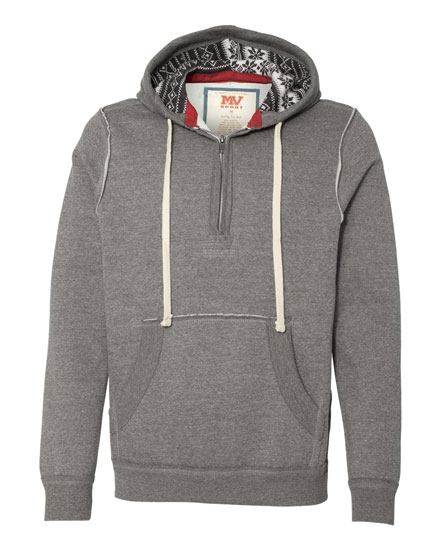 Hooded Quarter Zip Innsbrook Sweatshirt - Mens