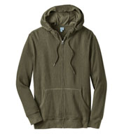 Mens Thermal Full-Zip Hoodie