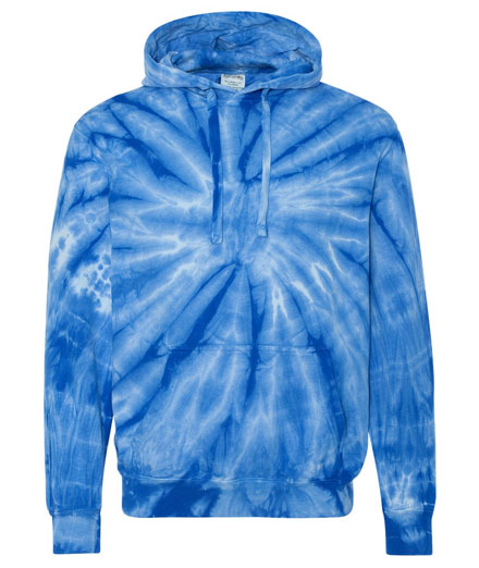Tie-Dyed Cotton Hoodie - Adult Mens