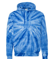 Adult Cotton Tie-Dyed Hoodie