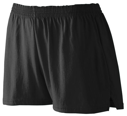 Augusta Trim Fit Jersey Short - Girls
