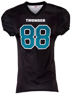 Teamwork First Down Football Jersey - Adult Mens