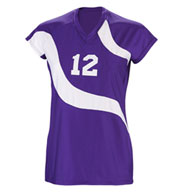 Teamwork Womens Spiral Volleyball Jersey